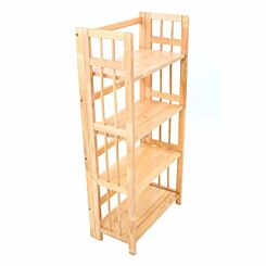 Premier Housewares 4 Tier Folding Shelving Unit