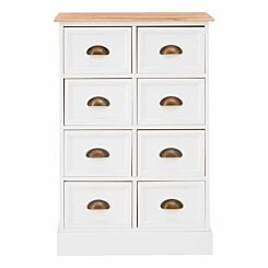 Premier Housewares Austin 8 Drawer Chest