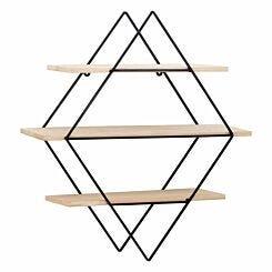 Premier Housewares Brixton Rhombus Shelves