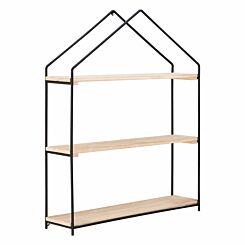 Premier Housewares Brixton House Shelf Unit