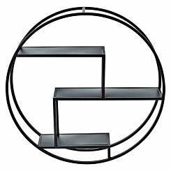 Premier Housewares Brixton Round Metal Shelf