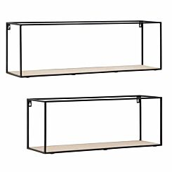 Premier Housewares Brixton Rectangular Cuboid Shelves