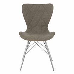 Premier Housewares Stockholm Fabric Chair Grey