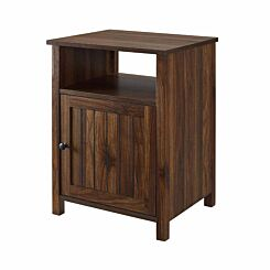 Phoenix Grooved Door Side Table