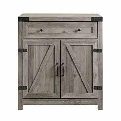 Bamoko Farmhouse Accent Cabinet Grey
