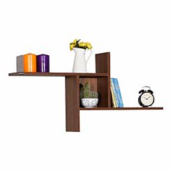 Empire Windmill Wall Mounted Shelf Walnut