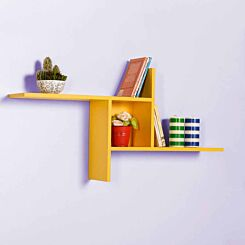 Empire Windmill Wall Mounted Shelf Yellow