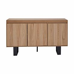 Interiors by PH Contemporary 3 Door Sideboard with Metal Legs
