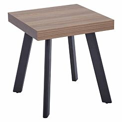 Interiors by PH Modern Side Table with Metal Legs