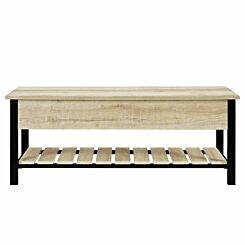 Torsten Open Top Entry Bench with Shoe Shelf