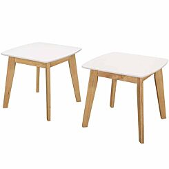 Signe Mid Century Modern End Table Pack of 2