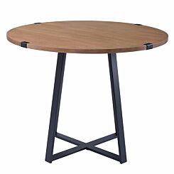 Eerika Round Metal Wrap Dining Table