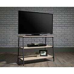 Teknik Industrial Style TV Stand and Trestle Shelf