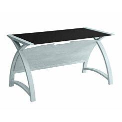 Jual Helsinki Large Curve Glass Laptop Table