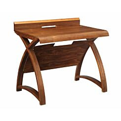 Jual Santiago Curve Walnut Table Desk 900mm