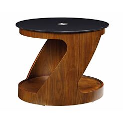 Jual San Marino Cut Out Lamp Table Walnut