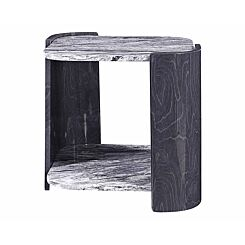 Jual Sorrento Slate and Marble Lamp Table
