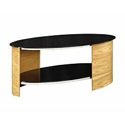 Jual San Marino Oval Coffee Table Oak