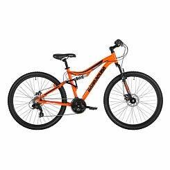 Barracuda Draco Dual Suspension and Disc Break Adult Mountain Bike 18 inch Frame