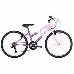 Flite Delta Kids Mountain Bike 24 Inch Wheel Pink