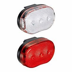 Compass Front and Rear Bike Light Set
