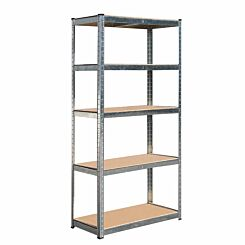 Hilka Boltless Shelving System 5 Tier 175kg Shelf Capacity