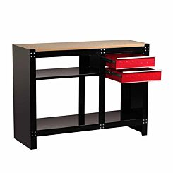 Hilka Heavy Duty Work Bench with 2 Drawers