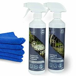 Charles Bentley Outdoor Glass and Furniture Cleaner Set