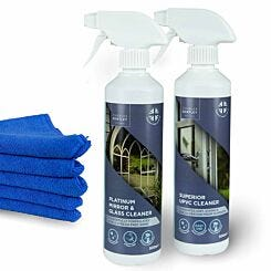 Charles Bentley Outdoor UPVC and Glass Cleaner Set