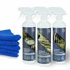Charles Bentley Outdoor Cleaning Trio Set