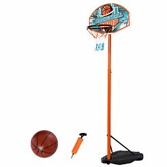 Zesty Kids Adjustable Basketball Hoop Stand with Ball and Pump180 -230