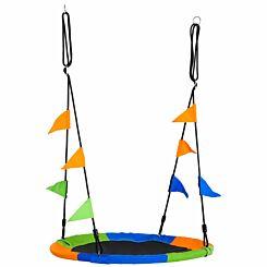 Zesty Kids Adjustable Saucer Tree Swing