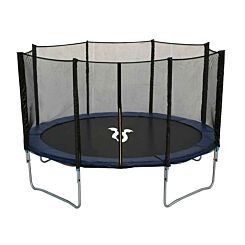 Charles Bentley Monster Childrens 12ft Trampoline with Safety Net Enclosure