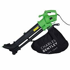 Charles Bentley Telescopic Electric Leaf Blower Vacuum with Variable Speed 3KW