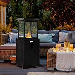 Alfresco Freestanding Patio Gas Heater with Wheels 8KW