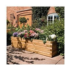 Rowlinson Natural Timber Patio Planter