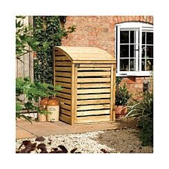 Rowlinson Natural Timber Single Bin Store