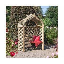 Rowlinson Jaipur Arbour Garden Furniture