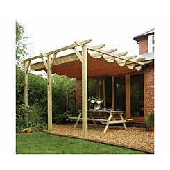 Rowlinson Sienna Garden Canopy