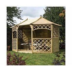 Rowlinson Sandringham Wooden Garden Gazebo