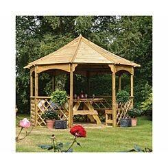 Rowlinson Buckingham Wooden Garden Gazebo
