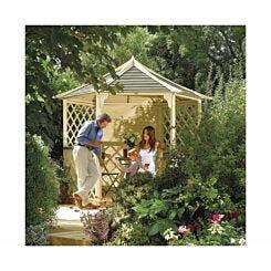 Rowlinson Gainsborough Wooden Garden Gazebo