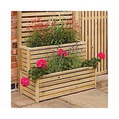 Rowlinson Garden Creations 2 Tier Planter