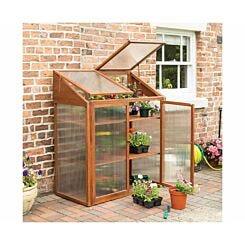 Rowlinson Hardwood Greenhouse Mini