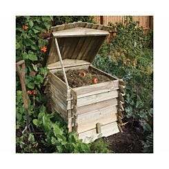 Rowlinson Beehive Wooden Composter