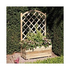 Rowlinson Rectangular Lattice Planter