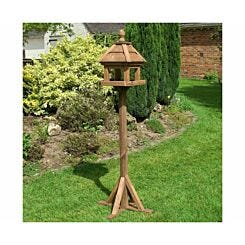 Rowlinson Lechlade Wooden Garden Bird Table