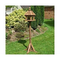 Rowlinson Lechlade Wooden Garden Bird Table