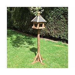 Rowlinson Laverton Wooden Garden Bird Table