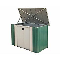 Rowlinson Metal Storette Garden Storage Unit 4 x 2ft